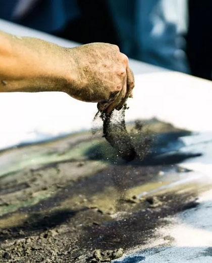 Sandstone Painting in Zhangjiajie