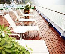 Yangtze River Cruise Deck