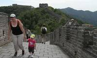 Climb on the Great Wall with Your Kid