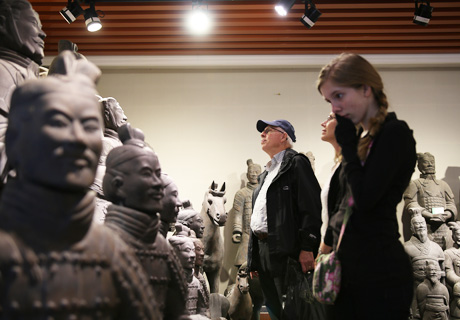 Visit the Terracotta Warriors in Xian