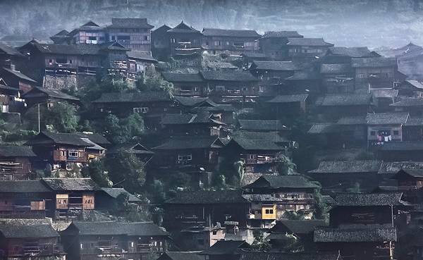 Miao Houses in Guizhou
