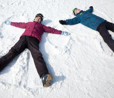 Skiing in Harbin ski resort