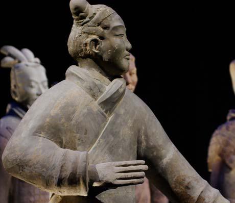 The Terracotta Army in Xian