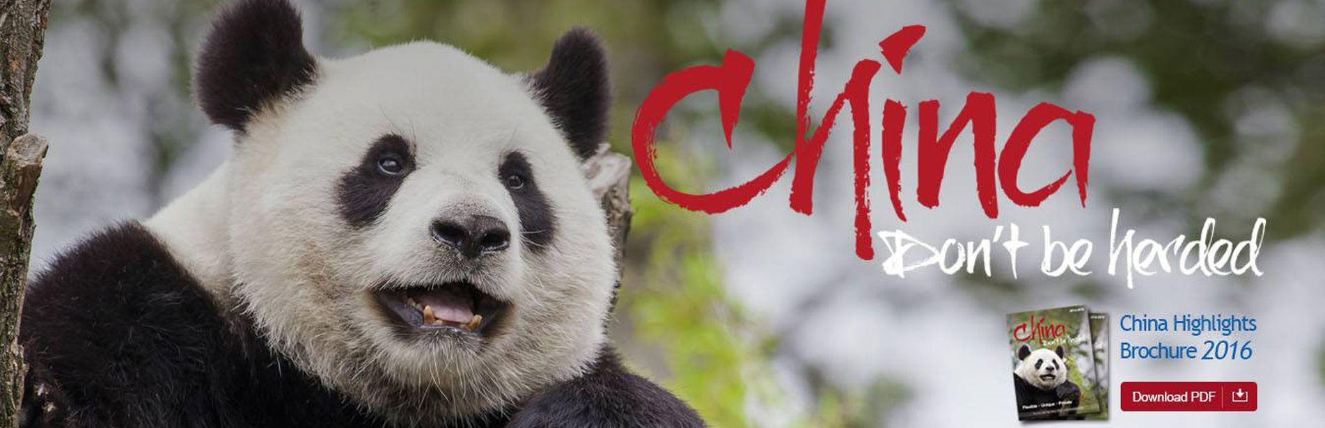 China Highlights Brochure 2016 Download