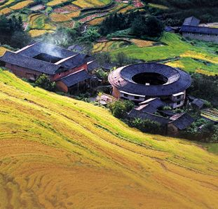 unique tulou in fujian