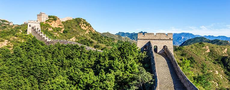 The Mutianyu Section of the Great Wall
