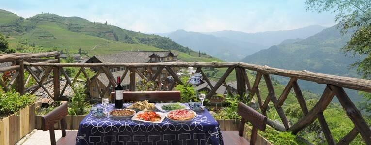 Restaurant at Longji