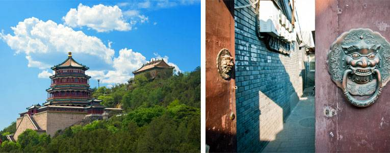 The Summer Palace and Hutongs