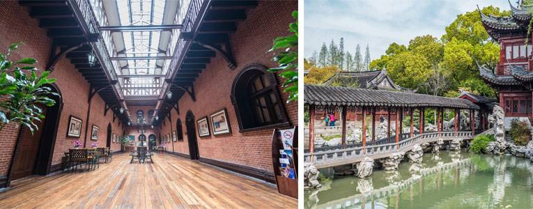The Colonial Historical Building and Yuyuan Garden