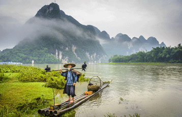 Li River in Gulin