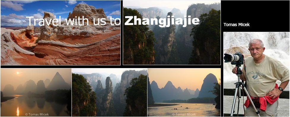 Tomas travel with us to Zhangjiajie