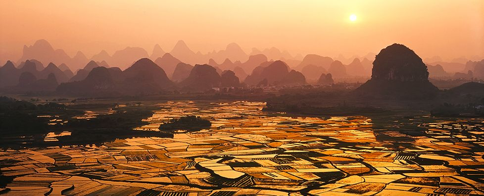 Yangshuo Countryside Scenery