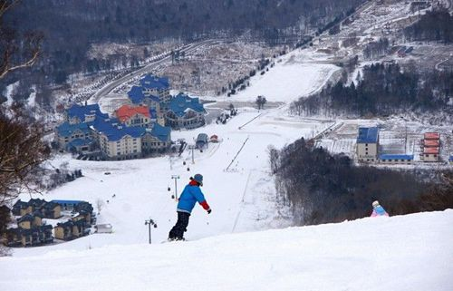 Skiing at Club Med Yabuli