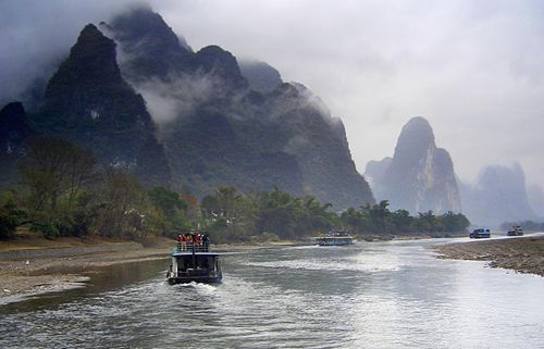 Guilin to Yangshuo by Li River