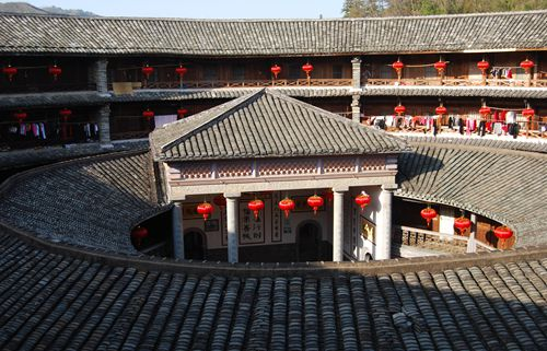 Hakka Earthern Buildings near Xiamen