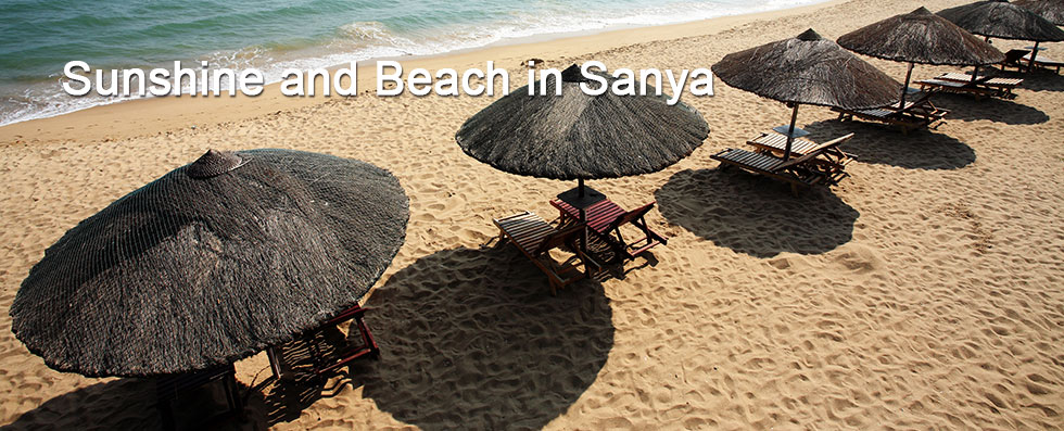 Winter with Sunshine and Beach in Sanya