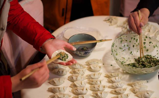 Learn to make dumplings