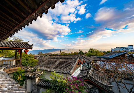 Lijiang Ville antique
