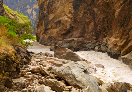 The Tiger Leaping Gorge hiking