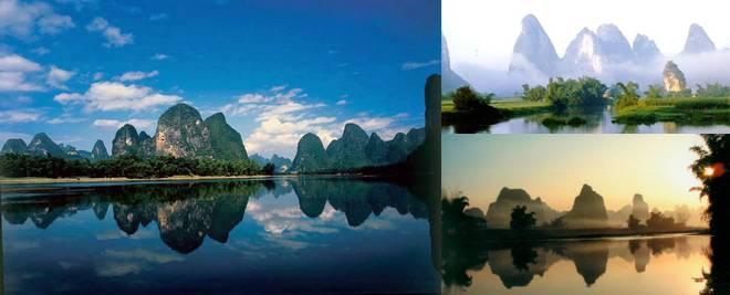 Rivière Li, belles destinations à visiter au début de l'été