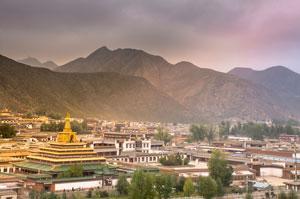 Xiahe Town of Gannan