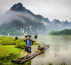 The Li River, Guilin
