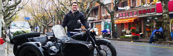 Sidecar in Shanghai