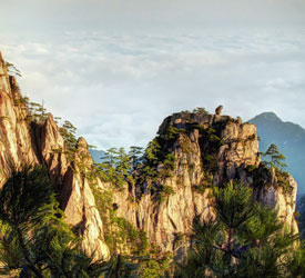 The Yellow Mountains, Huangshan