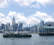 Hong Kong cruise port