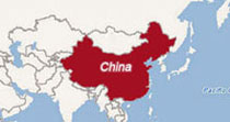 China Location Maps