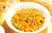 Sautéed Sweet Corn with Pine Nuts