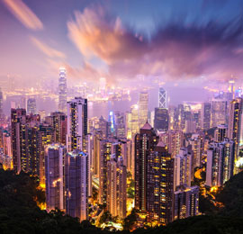 China December destination, Hong Kong