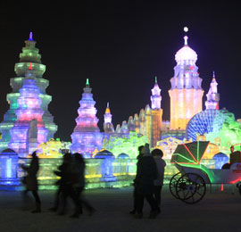 China January destination, Ice and Snow Festival in Harbin