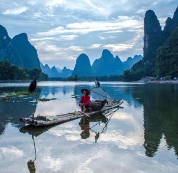 cormorant fisherman in Li River