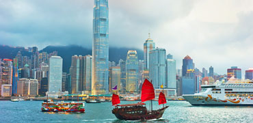 Hong Kong, the Victoria Harbour
