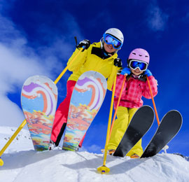 China February destination, skiing in Harbin