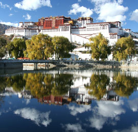 China June destination,  the Potala Palace in Lhasa, Tibet