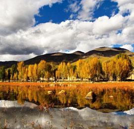 Chian October destination, Daocheng, western Sichuan Province
