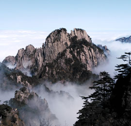 China scenery travel, the Yellow Mountains