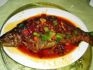 Braised Fish in Brown Sauce