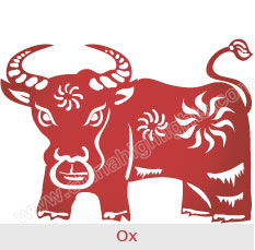 ox chinese zodiac signs - Chinese New Year 1961