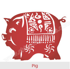 Pig - Chinese Zodiac Signs