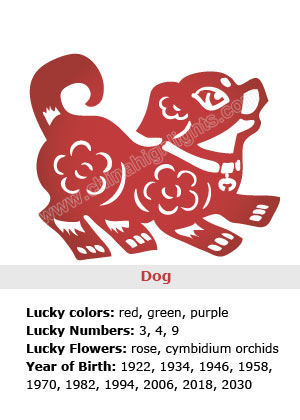 Dog Chinese Zodiac Sign Symbolism