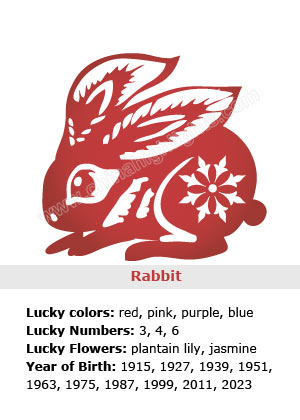 Rabbit - Chinese Zodiac Signs