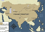 Ancient China Map