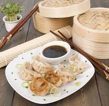 Chinese breakfast, dumplings