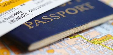 Travel tools, passport and visa
