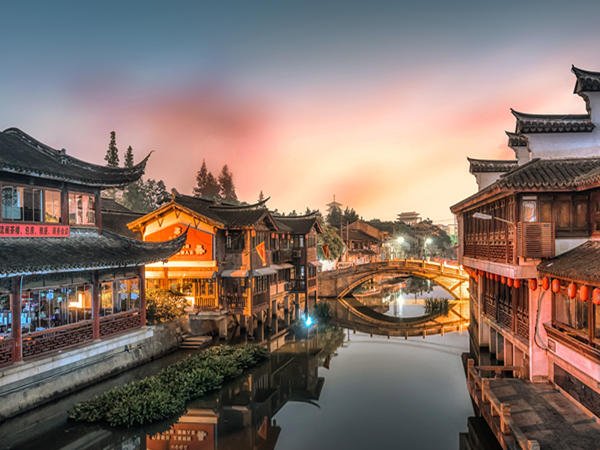 Shanghai città d'acqua