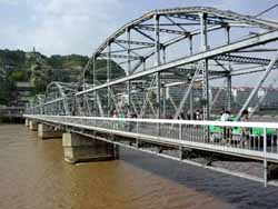 The Zhongshan  Iron Bridge