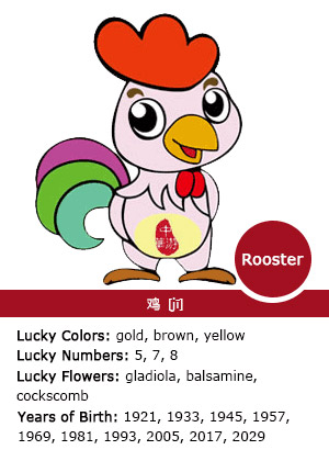 Rooster - Chinese Zodiac Signs